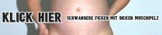 Schwangere ficken mit dicken Muschipelz